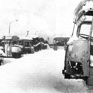 «Кладбище» знаменитых ЛиАЗ-677, которые в народе дразнили «сараями»
