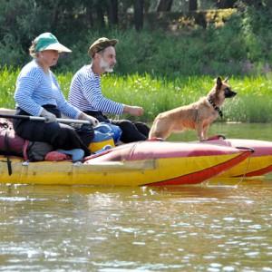 Двое в лодке, не считая собаки