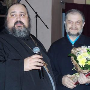 Приз получает редактор журнала ПРАВОСЛАВНЫЙ ДУХОВНЫЙ ВЕСТНИК Владимир Баклыков