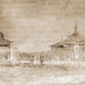 Воскресенский храм на военном кладбище