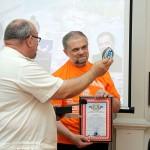 Подарки от Оренбургского казачества вручил войсковой старшина Сергей Шемякин