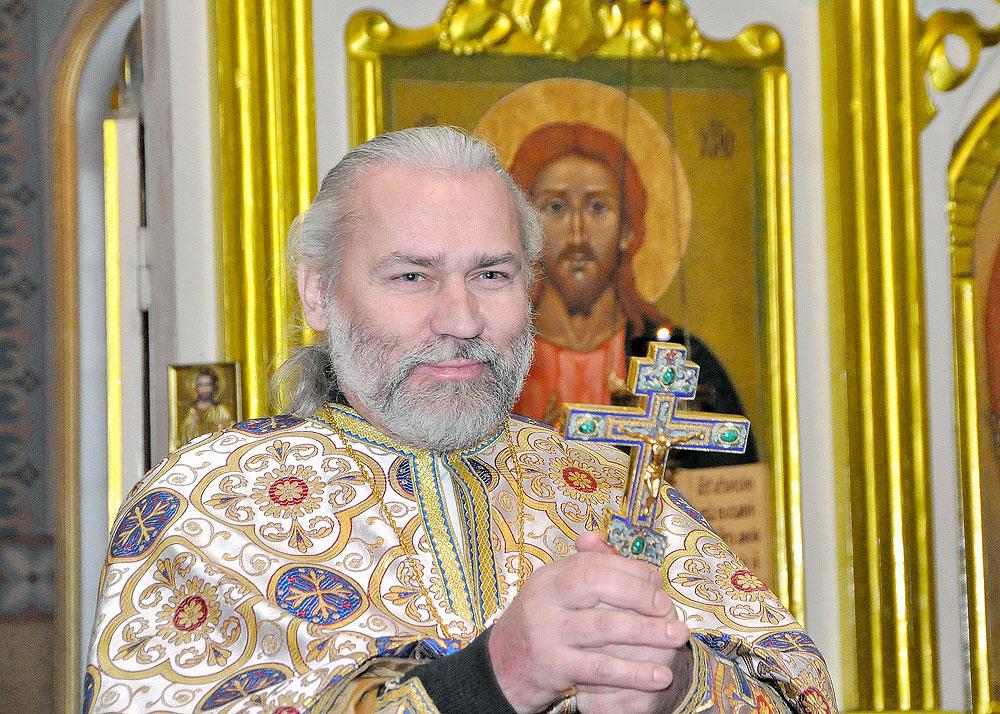 Настоятель Свято-Троицкой Симеоновой обители милосердия протоиерей Николай Стремский