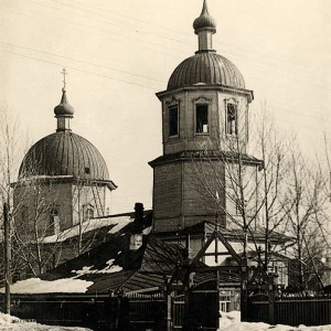 Петропавловский собор в Бузулуке (уничтожен атеистами в 1961-м году)