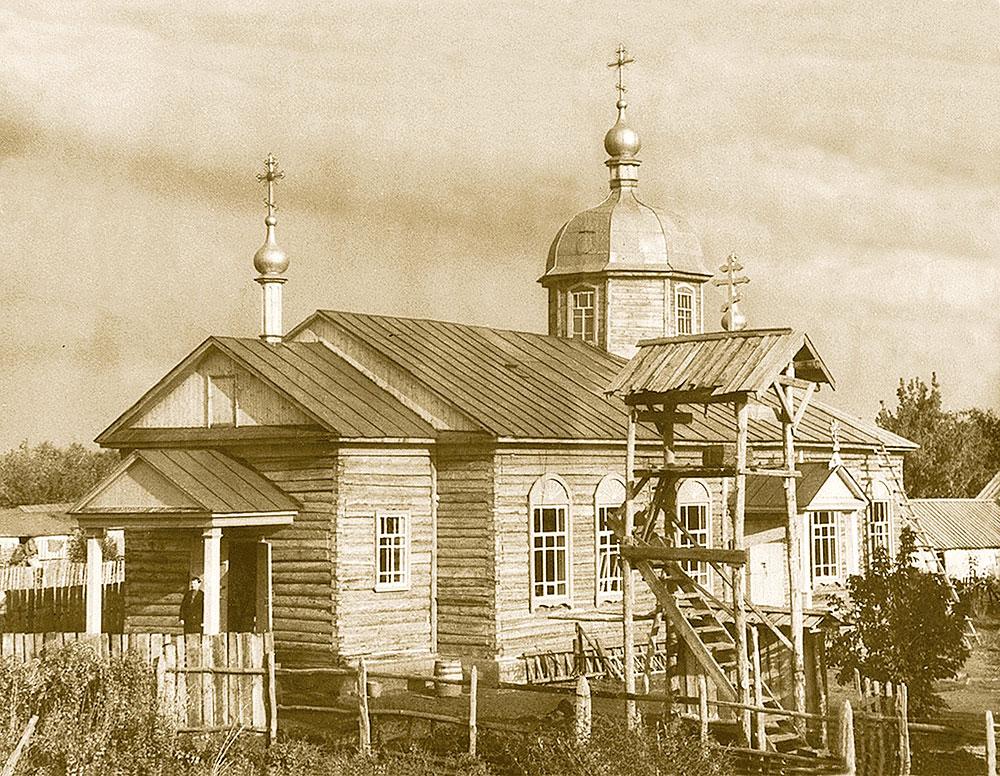 Храм Симеона Верхотурского. 1958 год