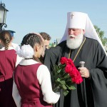 Встреча митрополита Оренбургского и Сараткашского Валентина