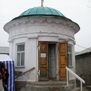 Сохранившаяся часовня великомученицы в городе Соль-Илецке