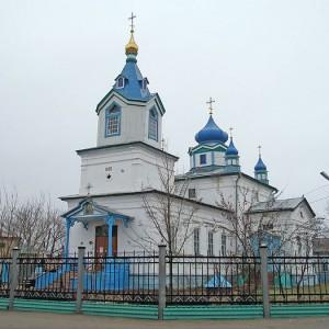Храм Казанской иконы Божией Матери в городе Соль-Илецке