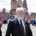Создатель образа памятника святому Владимиру - заслуженный художник РФ  Сергей Исаков