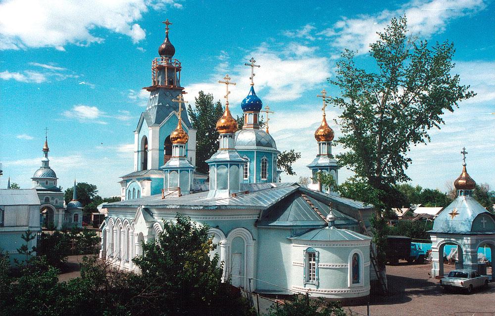 Храм Симеона Верхотурского. 1998 год