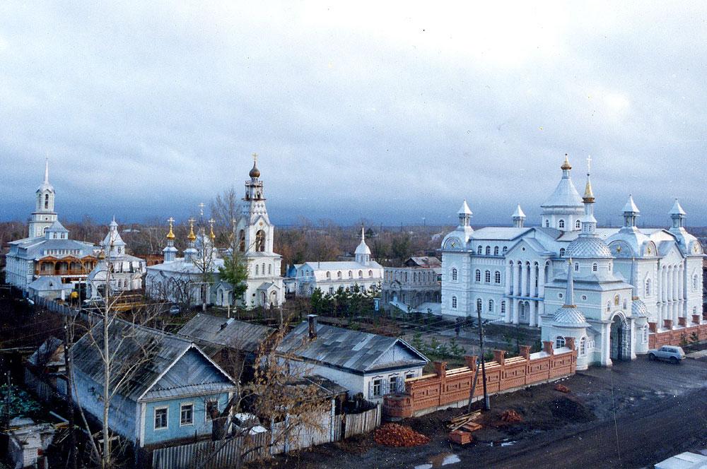 Свято-Троицкая благотворительная Обитель Милосердия. 1998 год