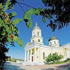 Храм Иоанна Богослова в селе Чёрный Отрог