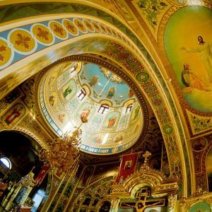 Внутренняя роспись храма Иоанна Богослова