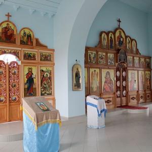 Внутренне убранство храма Христа Спасителя