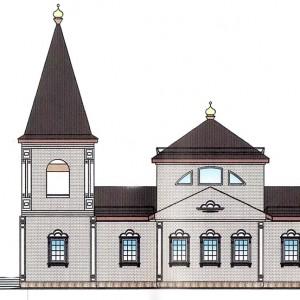 Проект храма Архангела Михаила в Островном