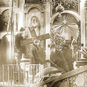 Разрушение храмов