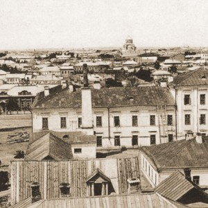 Панорама Оренбурга (историческое фото)