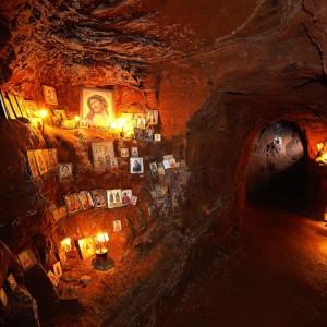 Подземные келии монастыря