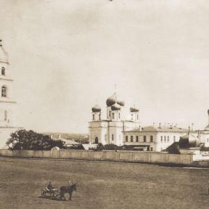 Свято-Тихвинский Богородицкий монастырь (историческое фото)