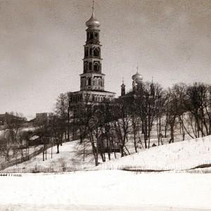 Спасо-Преображенский мужской монастырь (историческое фото)